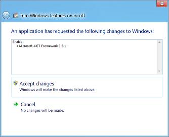 Windows 8 .NET 3.5 install prompt