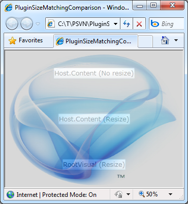 Correctly sizing the Popup to cover the plug-in