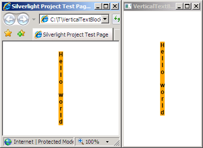 VerticalTextBlock Demonstration
