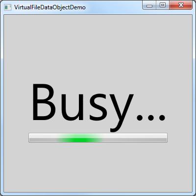 VirtualFileDataObjectDemo sample application